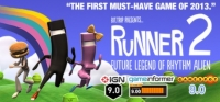 BIT.TRIP Presents... Runner 2: Future Legend of Rhythm Alien Box Art