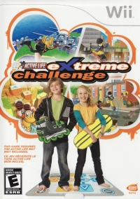 Active Life: Extreme Challenge Box Art