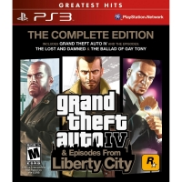 Grand Theft Auto IV: The Complete Edition - Greatest Hits Box Art