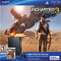 Sony Playstation 3 CECH-3001B - Uncharted 3: Drake's Deception Box Art