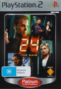 24: The Game - Platinum Box Art