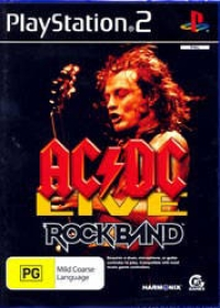 AC/DC Live: Rock Band Box Art