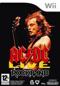 AC/DC Live: Rock Band Box Art