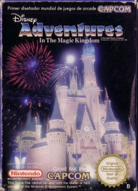 Adventures in the Magic Kingdom Box Art