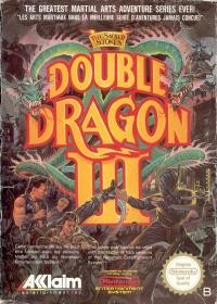 Double Dragon III: The Sacred Stones Box Art