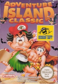 Adventure Island Classic: In The Pacific Box Art