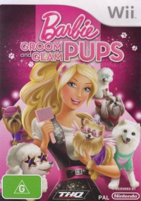 Barbie: Groom and Glam Pups Box Art