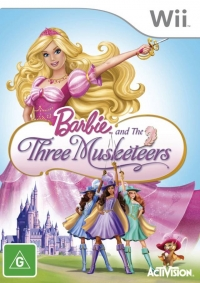 Barbie and the Three Musketeers Box Art