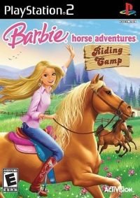 Barbie Horse Adventures: Riding Camp Box Art