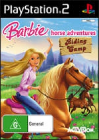 Barbie Horse Adventures: Riding Camp Box Art