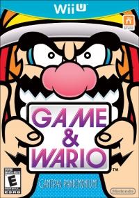 Game & Wario Box Art