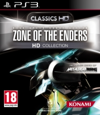 Zone of the Enders HD Collection - Classics HD Box Art