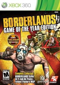Borderlands - Game of the Year Edition (Includes Duke Nukem Forever) Box Art