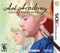Art Academy: Lessons for Everyone! Box Art