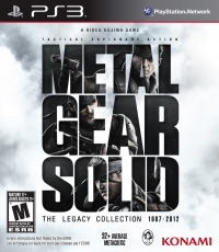 Metal Gear Solid: The Legacy Collection 1987-2012 (slipcover) Box Art