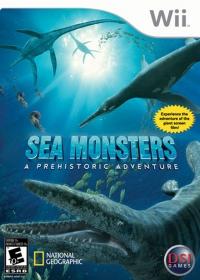 Sea Monsters: A Prehistoric Adventure Box Art