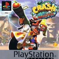 Crash Bandicoot 3: Warped - Platinum Box Art