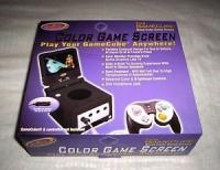 Intec Gamecube LCD Screen - Black Box Art