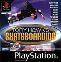 Tony Hawk's Skateboarding Box Art