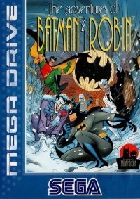 Adventures of Batman & Robin, The Box Art