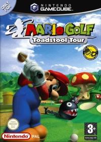Mario Golf: Toadstool Tour Box Art