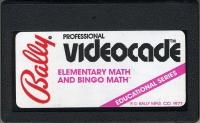 Elementary Math and Bingo Math Box Art