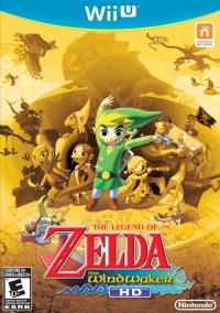 Legend of Zelda, The: The Wind Waker HD (gold cover) Box Art