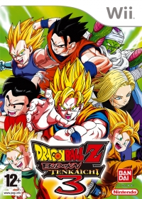Dragon Ball Z: Budokai Tenkaichi 3 Box Art