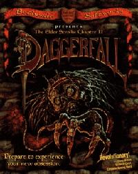 Elder Scrolls II, The: Daggerfall Box Art