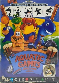 Aquatic Games starring James Pond and the Aquabats, The Box Art