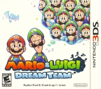 Mario & Luigi: Dream Team Box Art