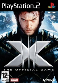 X-Men: The Official Game Box Art