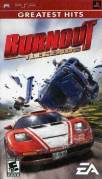 Burnout Legends - Greatest Hits Box Art