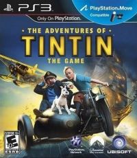 Adventures of Tintin, The: The Game Box Art