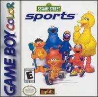 Sesame Street Sports Box Art