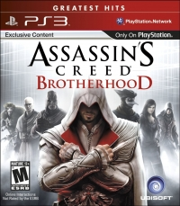 Assassin's Creed: Brotherhood - Greatest Hits Box Art