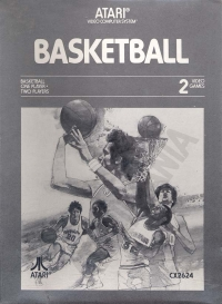 Basketball (grayscale box) Box Art