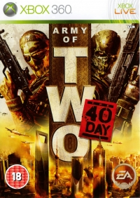 Army of Two: The 40th Day Box Art