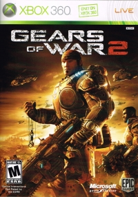 Gears of War 2 Box Art