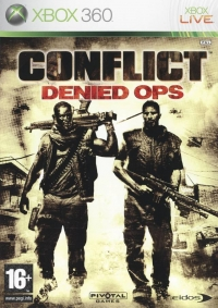 Conflict: Denied Ops Box Art