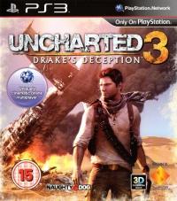 Uncharted 3: Drake's Deception [UK] Box Art