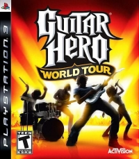 Guitar Hero: World Tour Box Art