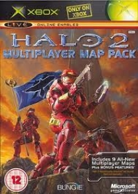 Halo 2: Multiplayer map Pack Box Art