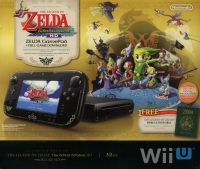 Wii U The Legend of Zelda: The Wind Waker HD Deluxe Set | 32GB [NA] Box Art