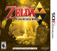 Legend of Zelda, The: A Link Between Worlds Box Art