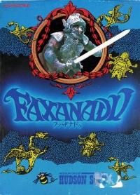 Faxanadu Box Art