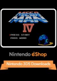 Mega Man 4 Box Art