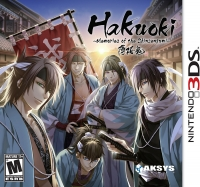 Hakuoki: Memories of the Shinsengumi Box Art