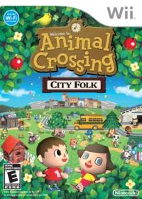 Animal Crossing: City Folk Box Art