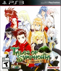 Tales of Symphonia Chronicles Box Art